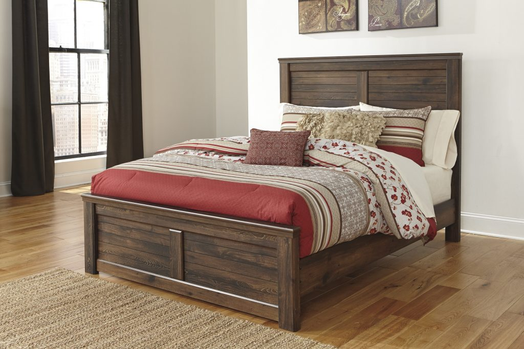 Ashley Furniture Quinden Queen Panel Bed The Classy Home