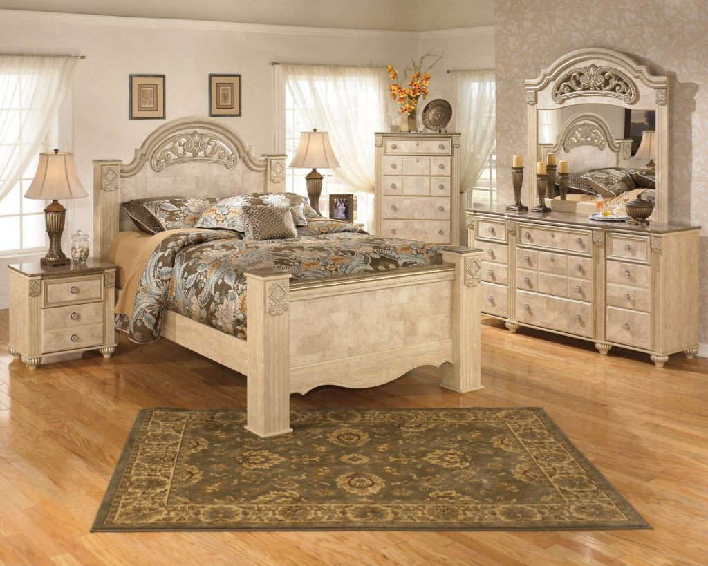 Ashley Saveaha Old World Bedroom Set Bedroom Furniture Sets