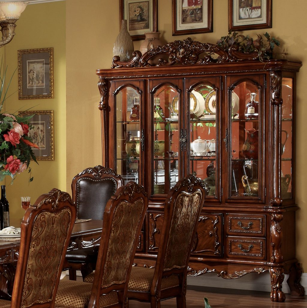 Astoria Grand Welliver Lighted China Cabinet Reviews Wayfair