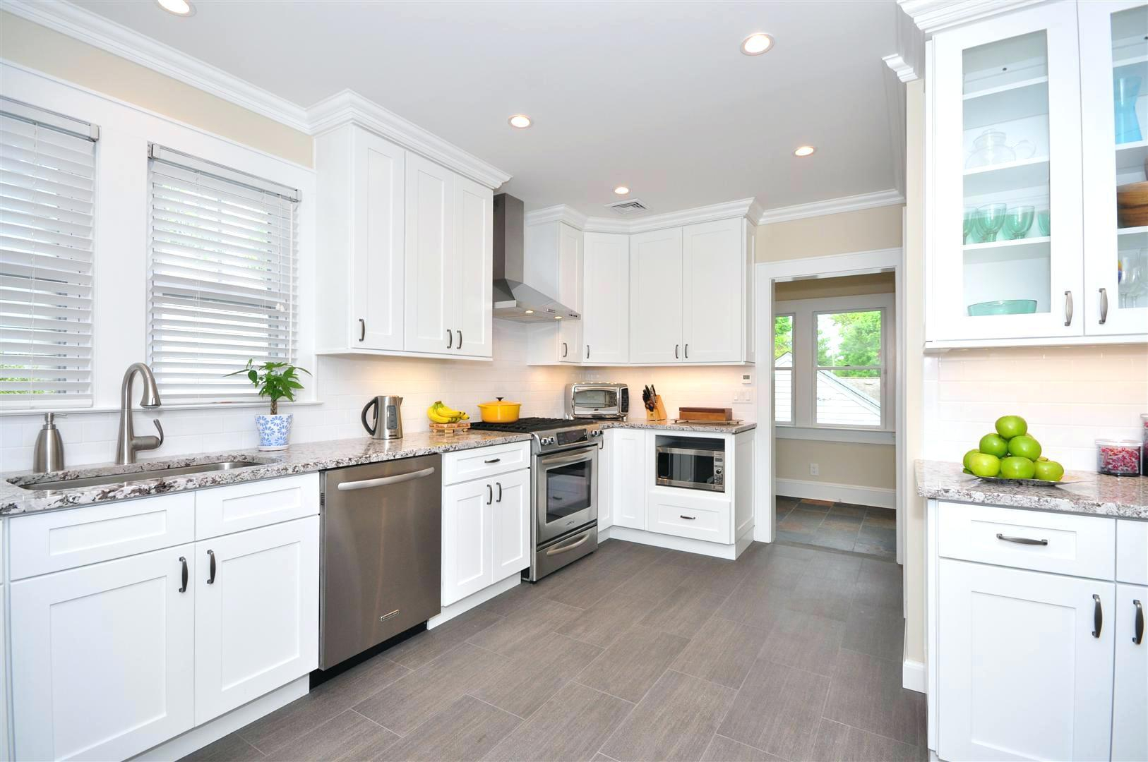 Awesome Wenge White Shaker Kitchen Cabinet Doors Pict For ...