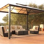 Backyard Metal Roof Gazebo Plans Awesome House Design Metal