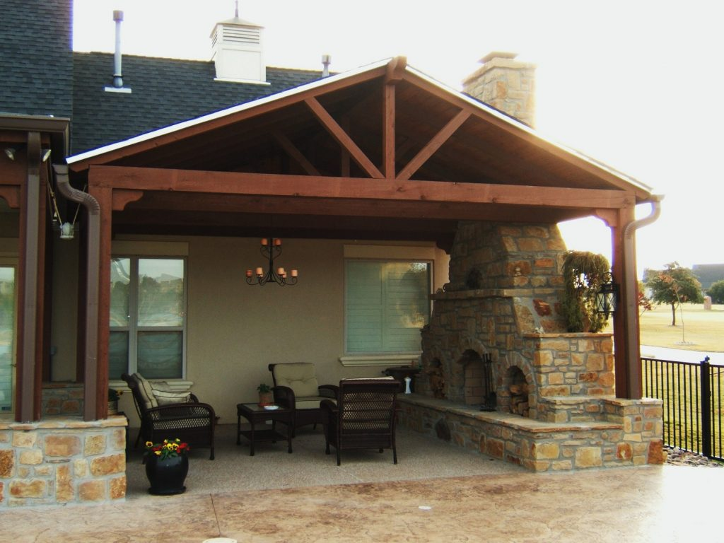 Backyard Outdoor Covered Patio Structures Covered Patio Contractors