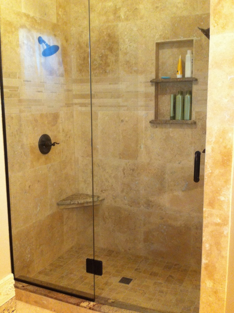 Bathroom Appealing Ideas For Bathroom Decoration With Travertine