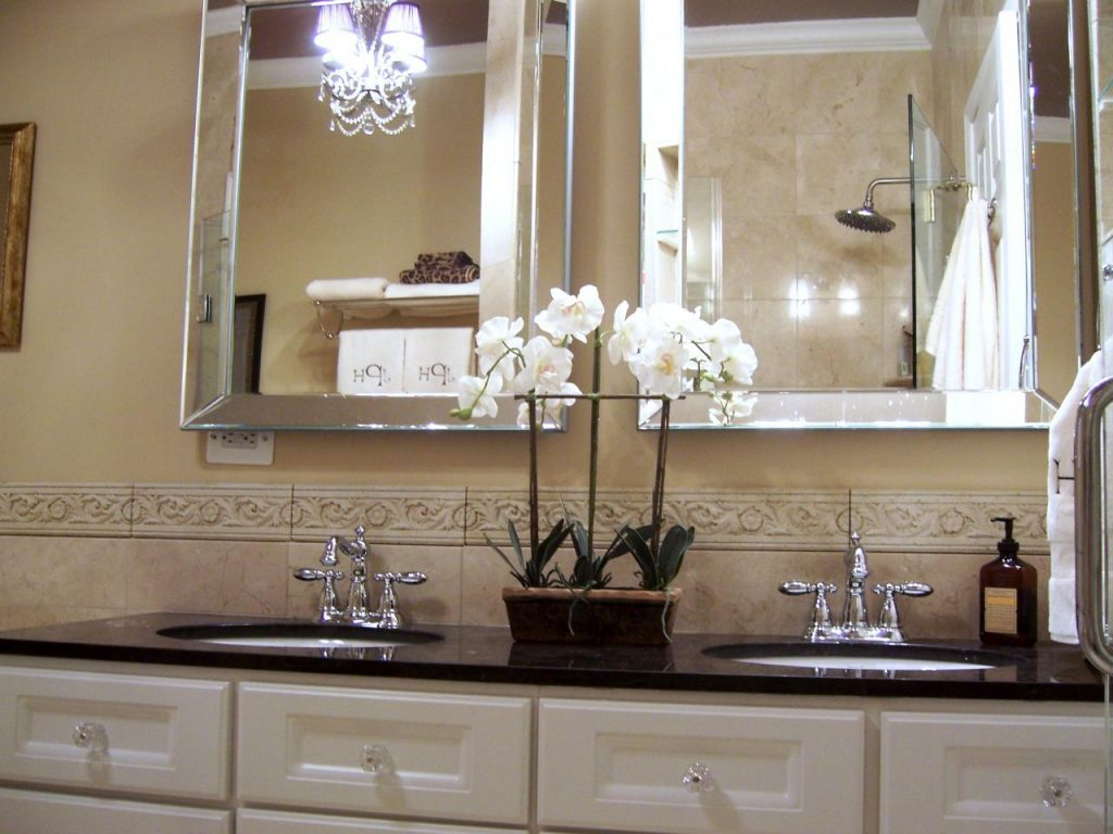 Bathroom Colorful Mirrors Magnificent Paint Color For Vanity Home