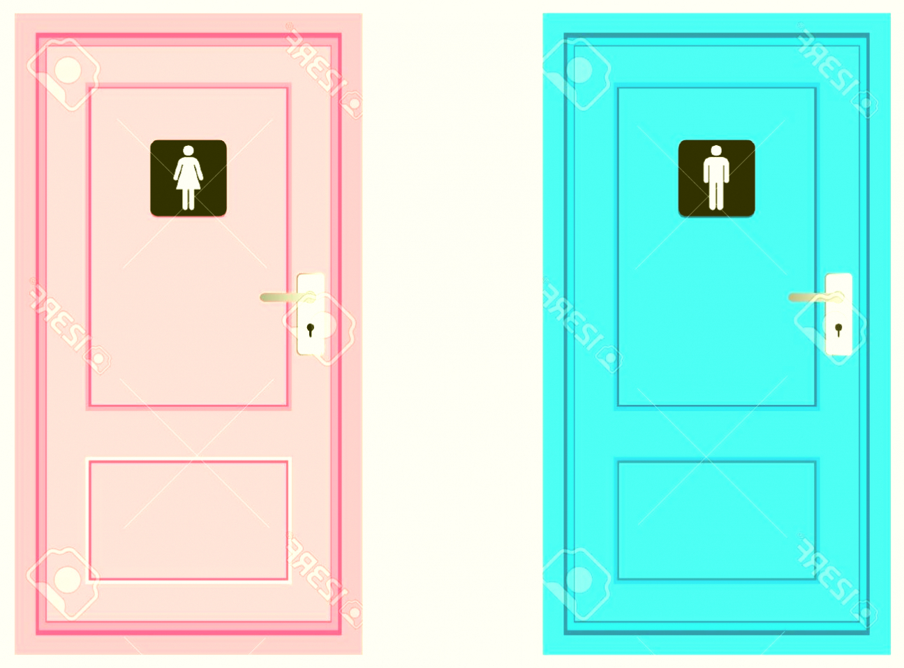 Bathroom Door Images Clipart Ideas Clip Art Mayhanrobot