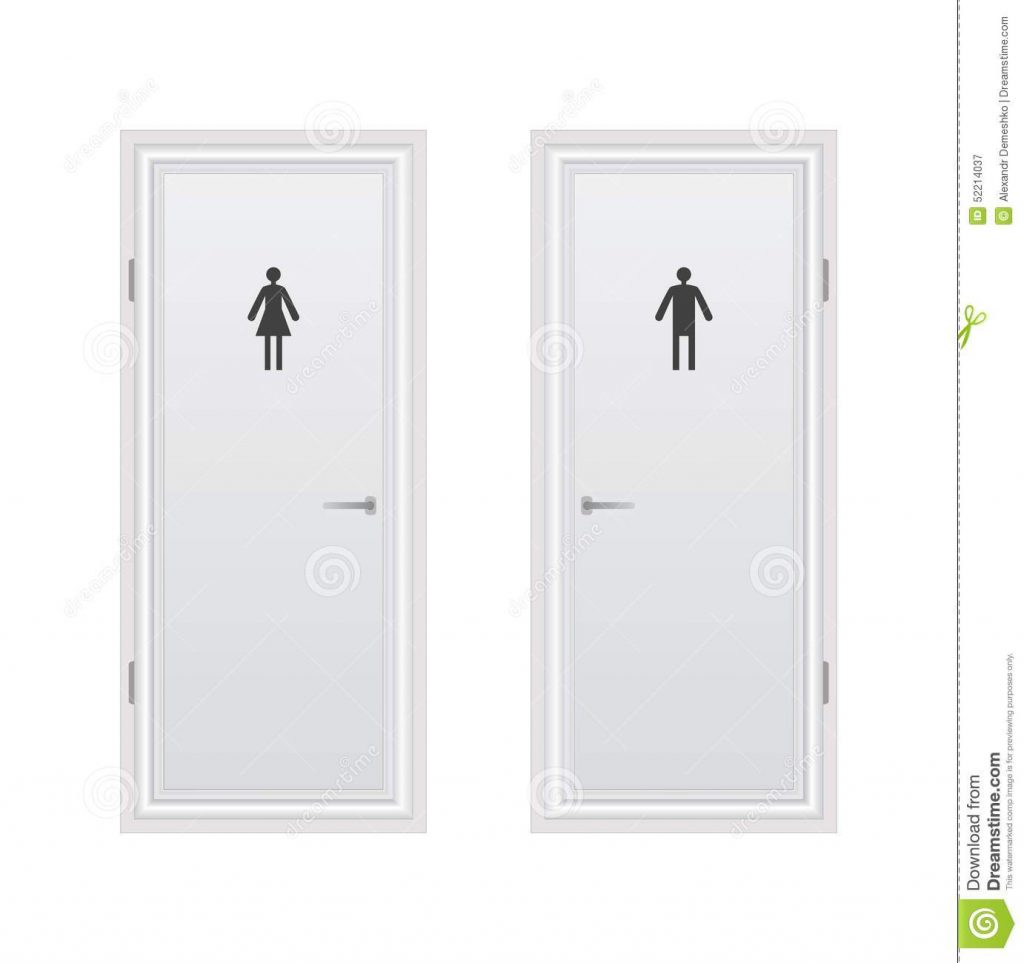 Bathroom Door Modern Glass Door In Bathroom And Toilet