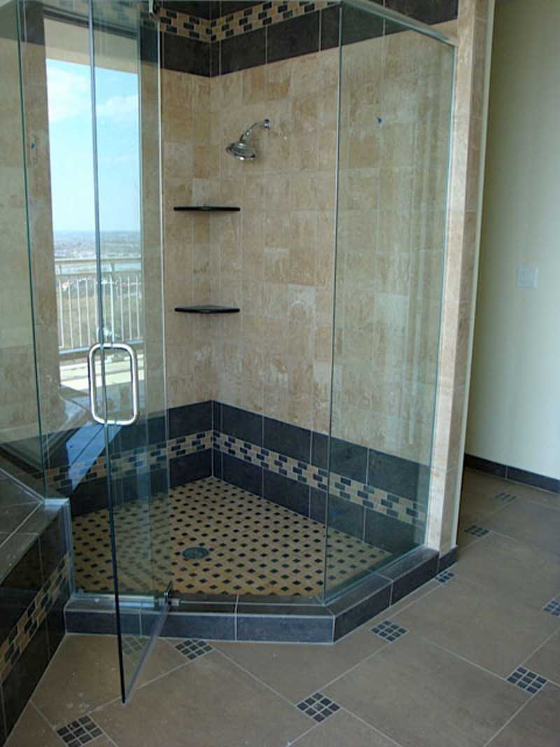 Bathroom Excellent Design For Tile Bathroom Decoration With Black