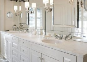Bathroom Mirrors with Sconces
