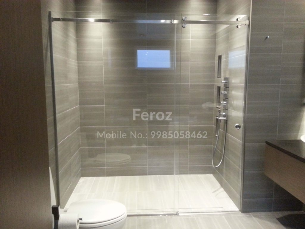 Bathroom Partition Minerva Glass Solutions