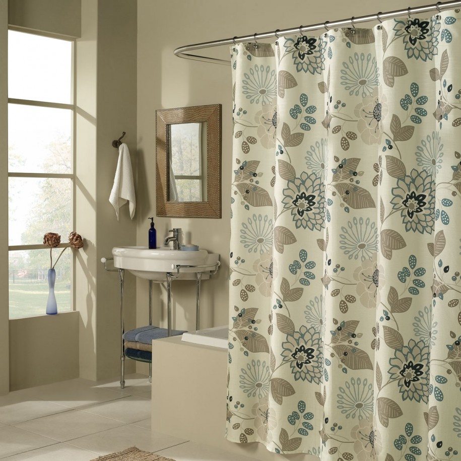 Bathroom Shower Curtains Pretty And Useful Darlanefurniture