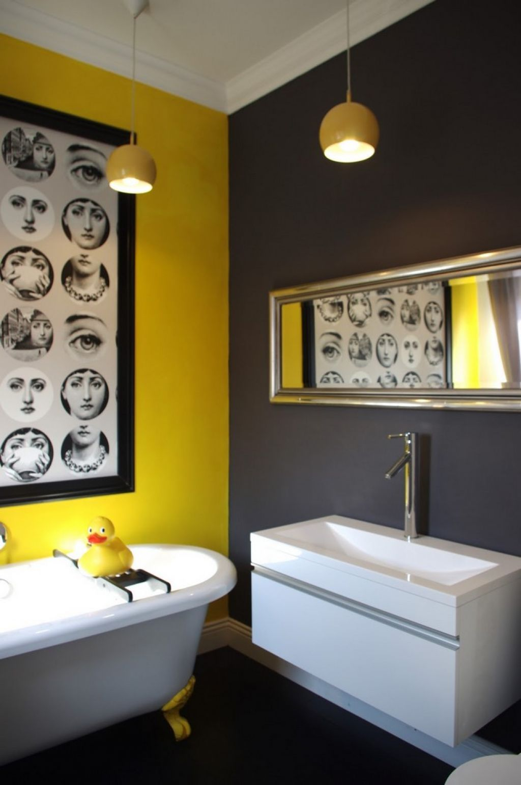 Bathroom With Yellow Grey Wall Colors Ideas For The House – layjao
