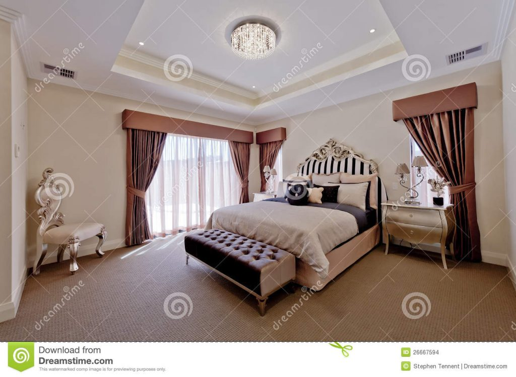 Beautiful Old World Bedroom Suite Stock Photo Image Of Large