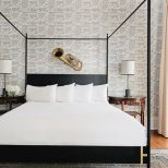 Bed Bedding Best Contemporary Canopy Bed For Your House Concept