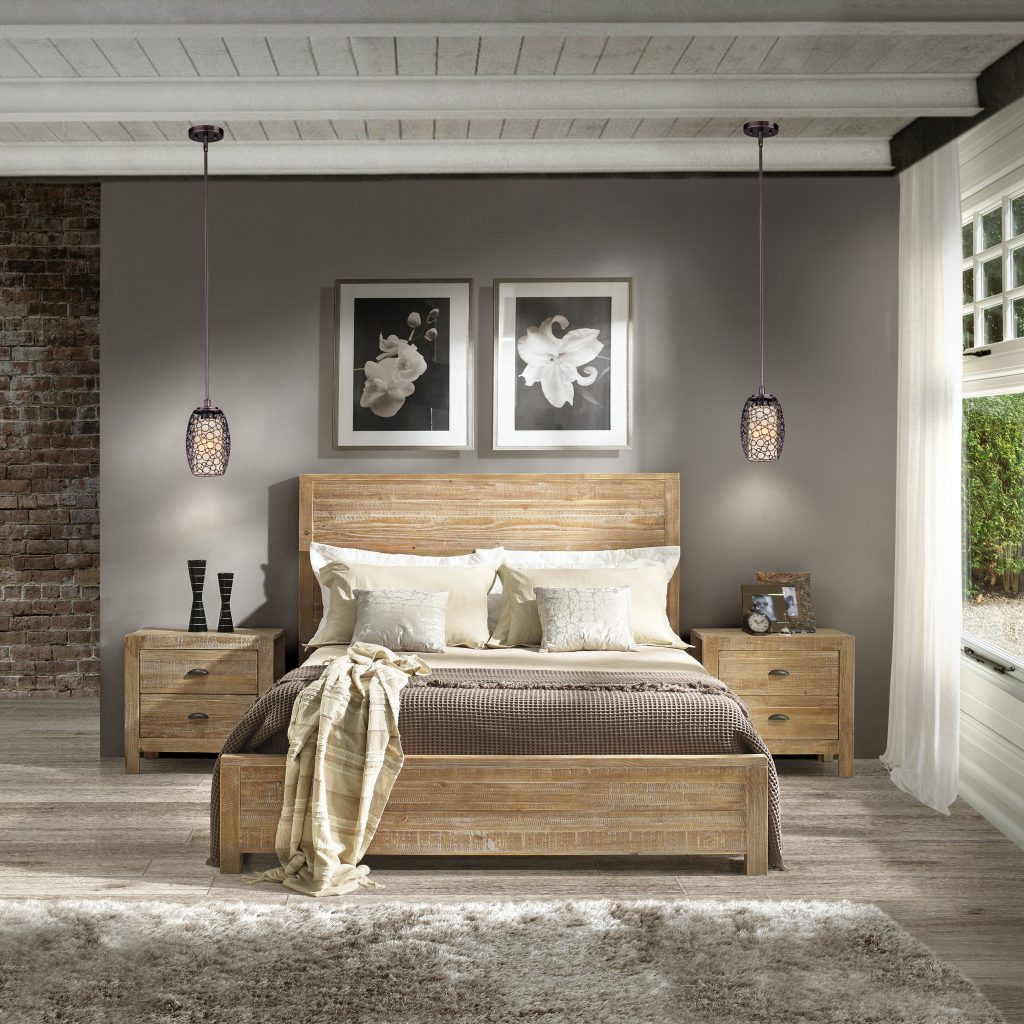 Bedroom Country Cottage Style With Rustic Bedroom Sets Three