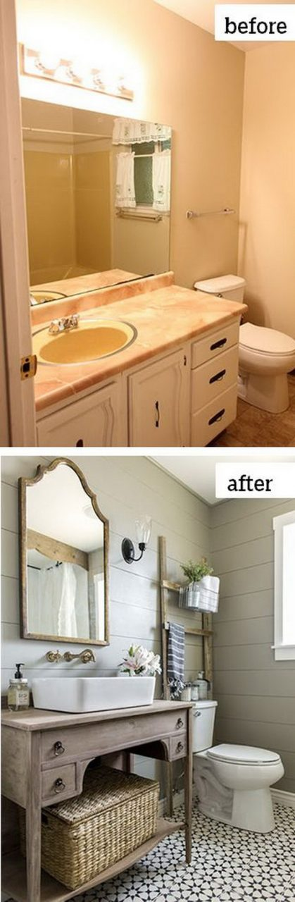 Before And After Makeovers 20 Most Beautiful Bathroom Remodeling Ideas