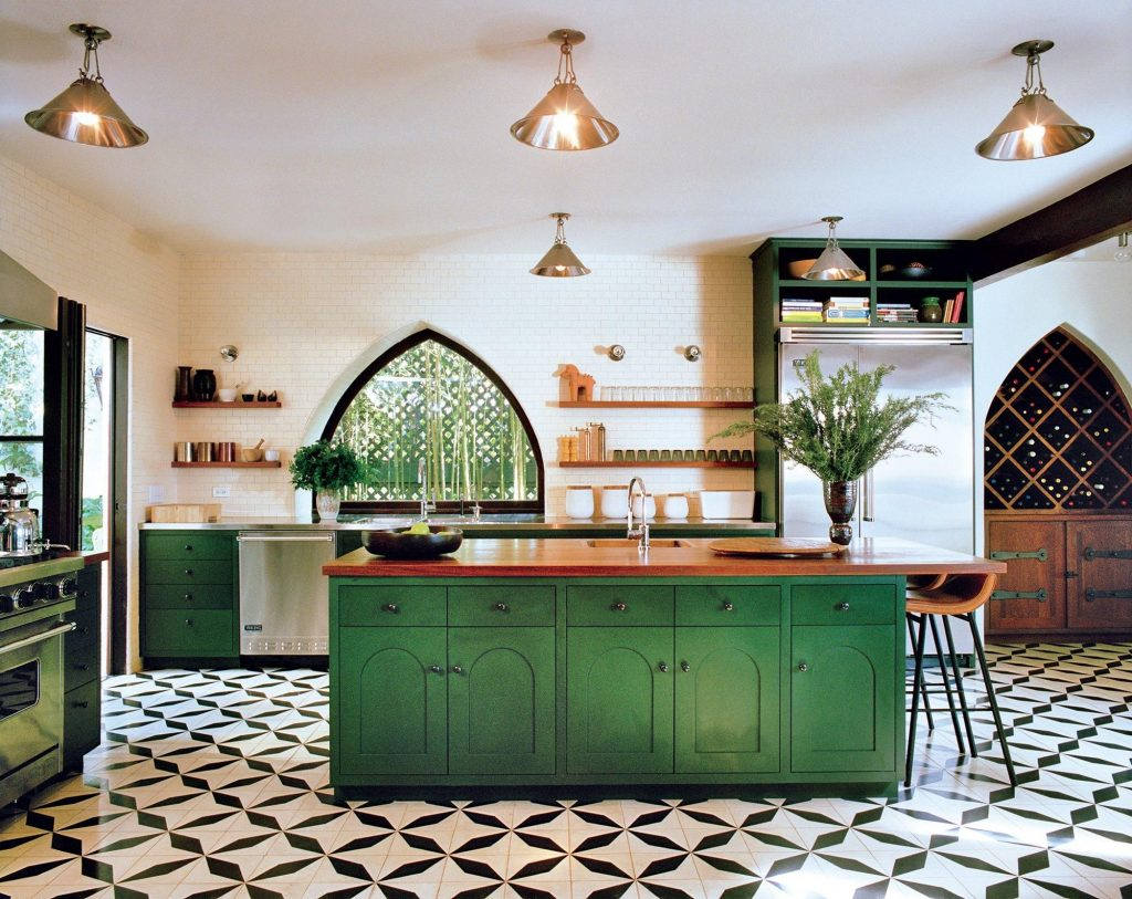 Best Kitchens Photographed In Homes And Interiors Green Kitchen