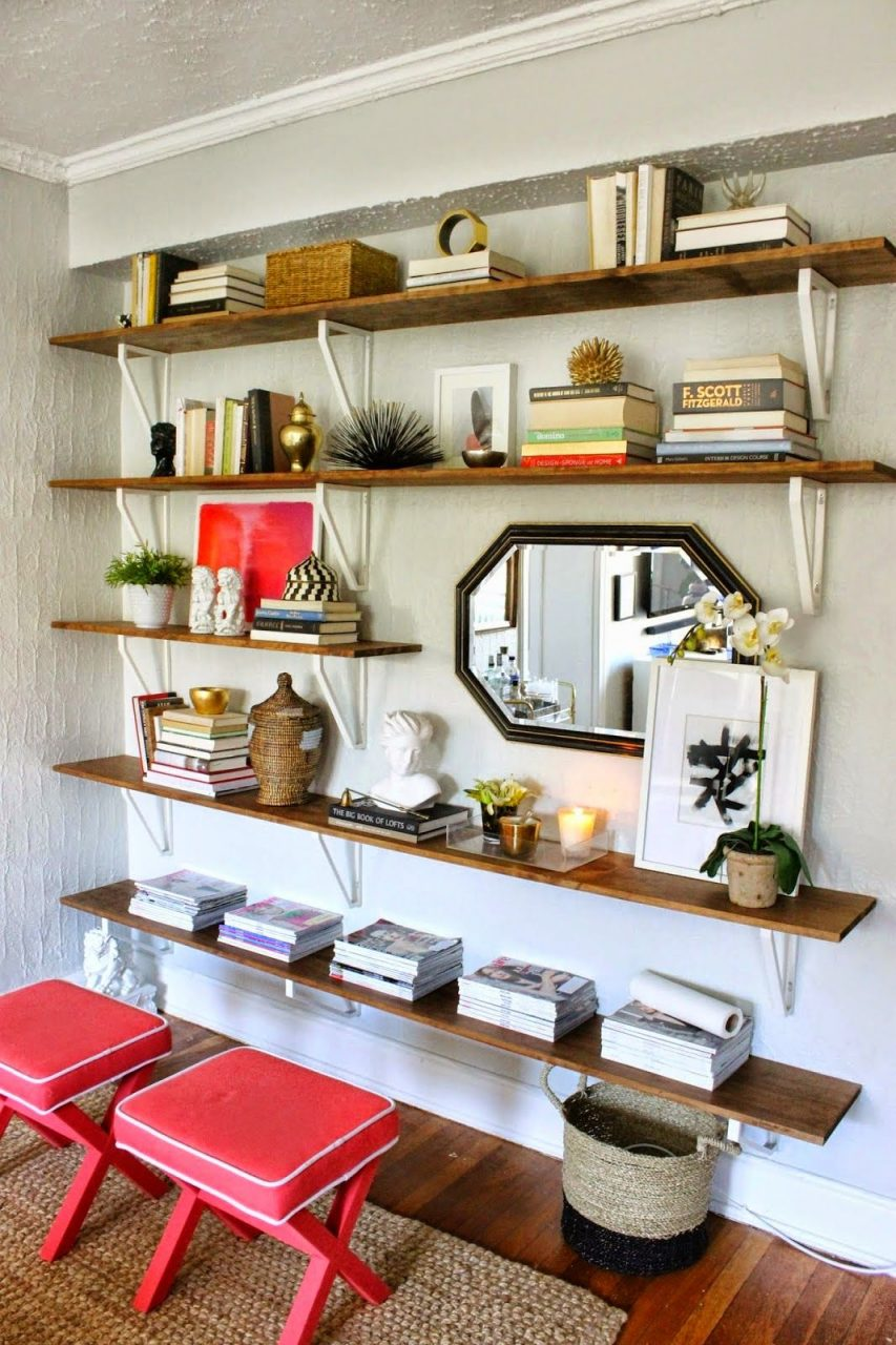 Best Of The Nest August Features I Love Shelves Ikea Shelves