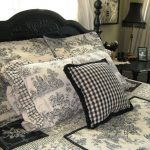 Black and White Toile Bedroom Ideas