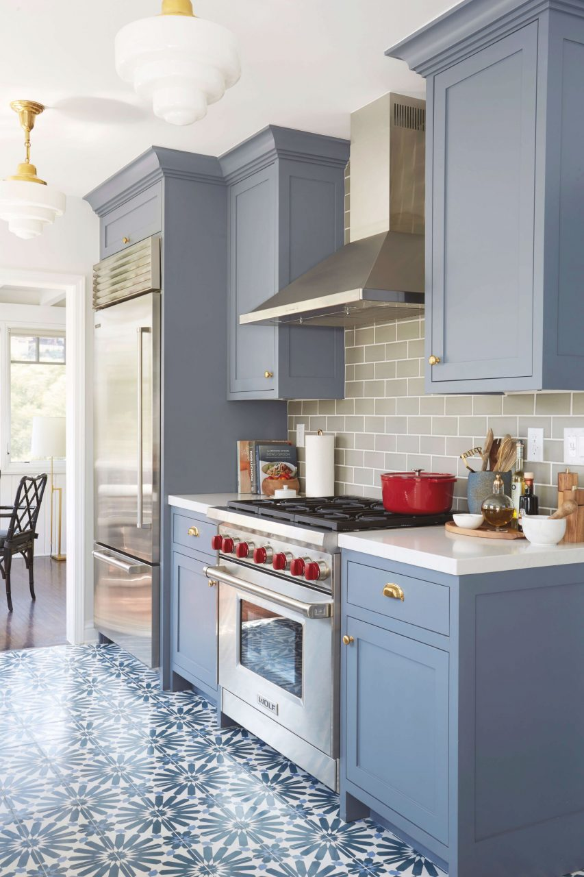 Blue Grey Kitchen Cabinets Best Mattress Kitchen Ideas