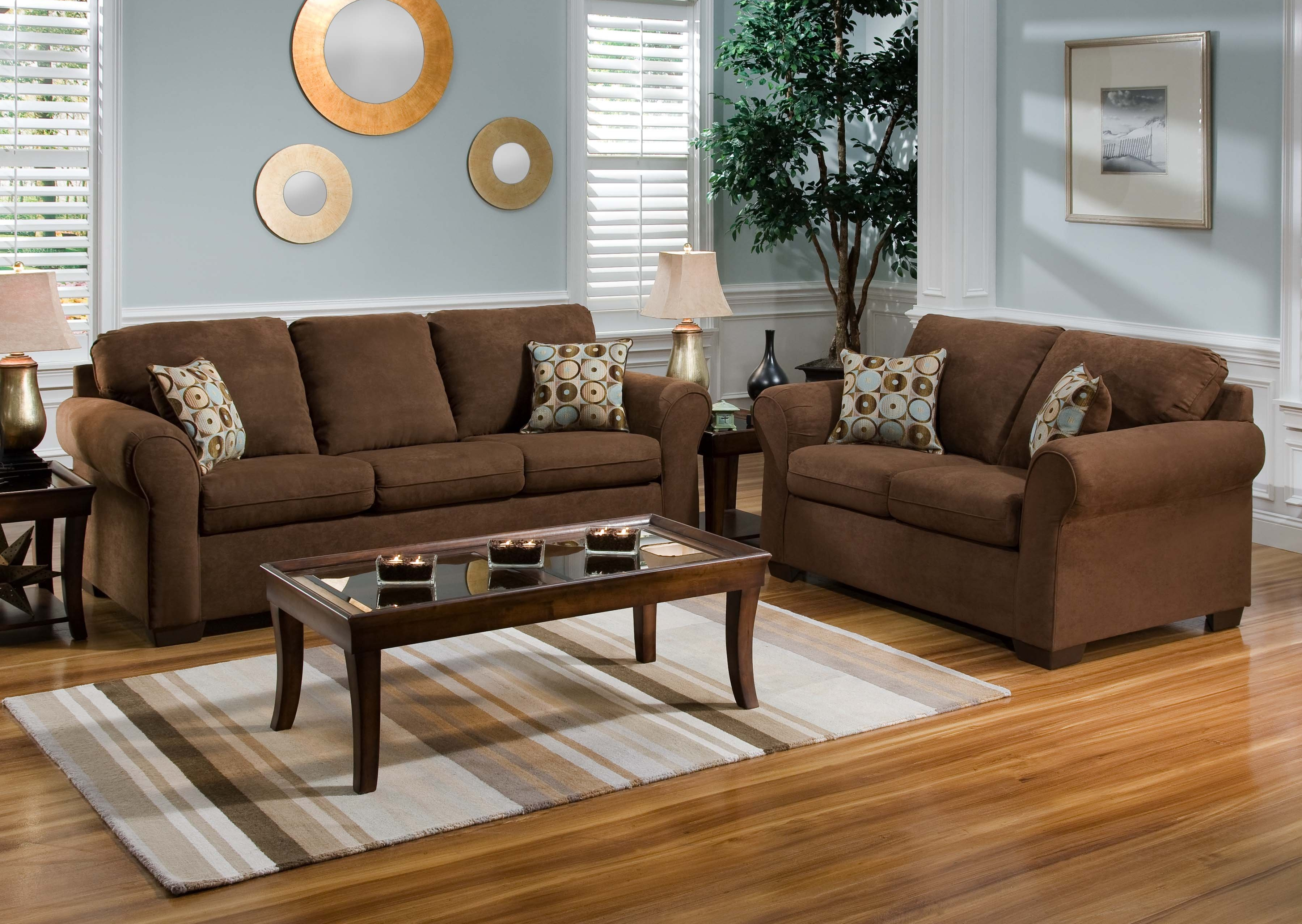 Brilliant Light Brown Couch Living Room Ideas Fifthla Layjao