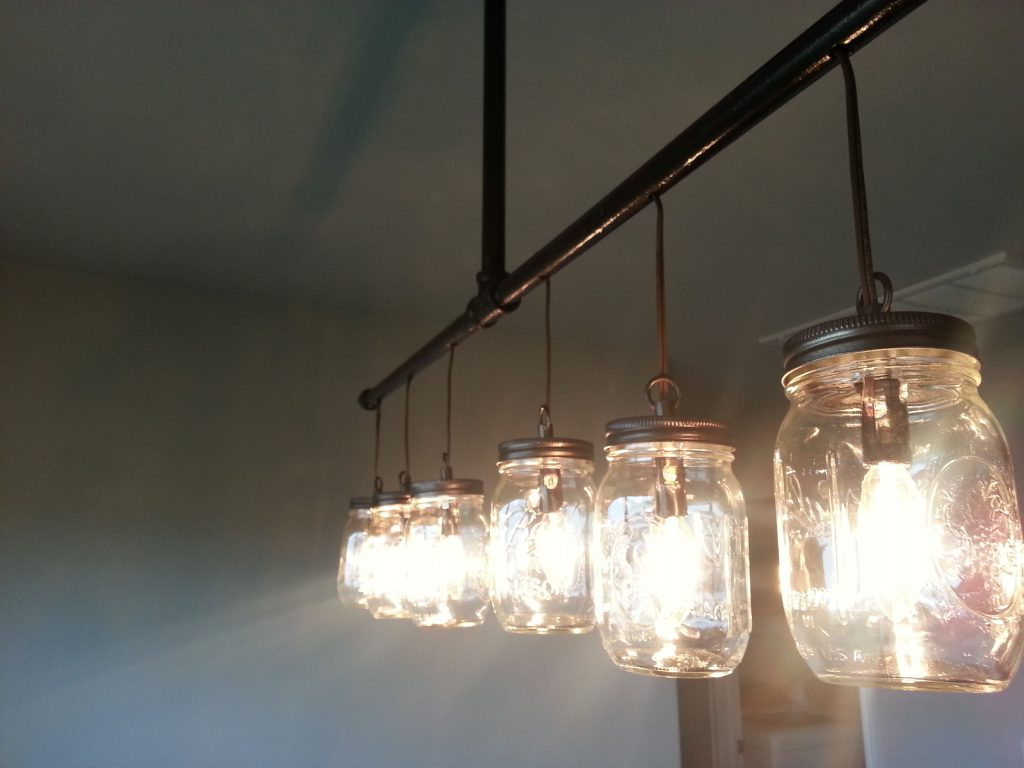 Buy A Handmade Mason Jar Chandelier Made To Order From Route 66