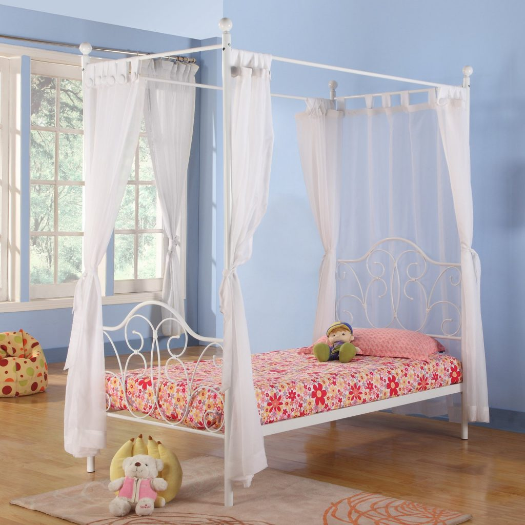 Canopy Bed Curtains Girls Hotelpicodaurze Designs