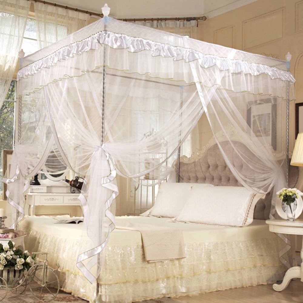 Canopy Mosquito Net Adult Quadrate Insect Bed Mesh Bedroom