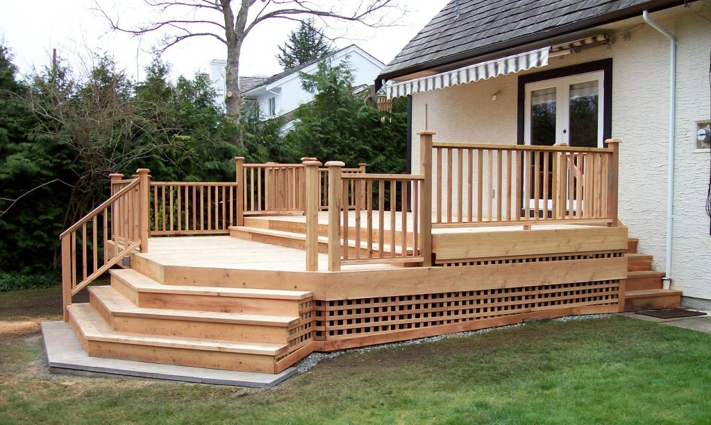 Cedar Deck Railing Composite Decking Ideas Design Systems Deck