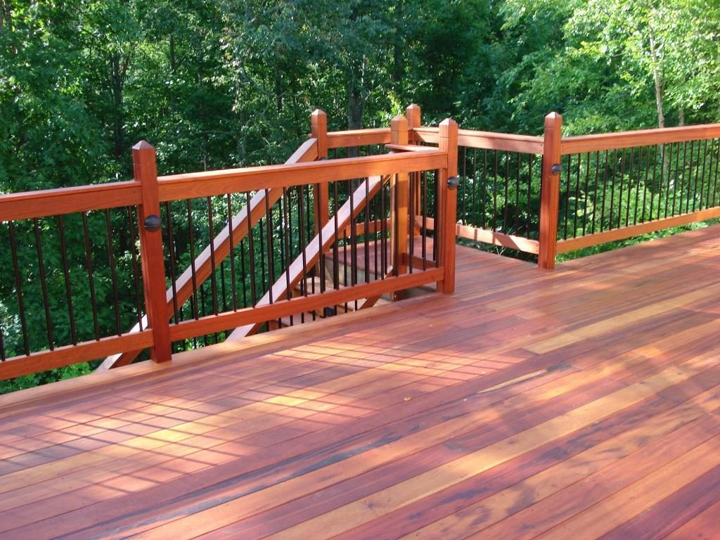 Cedar Deck Railing Designs Stickers Stars And Smiles Design