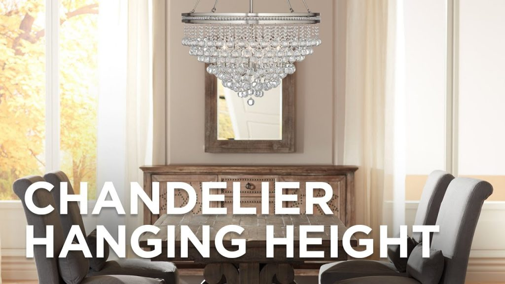 Chandelier Hanging Height How High To Hang A Chandelier Lamps