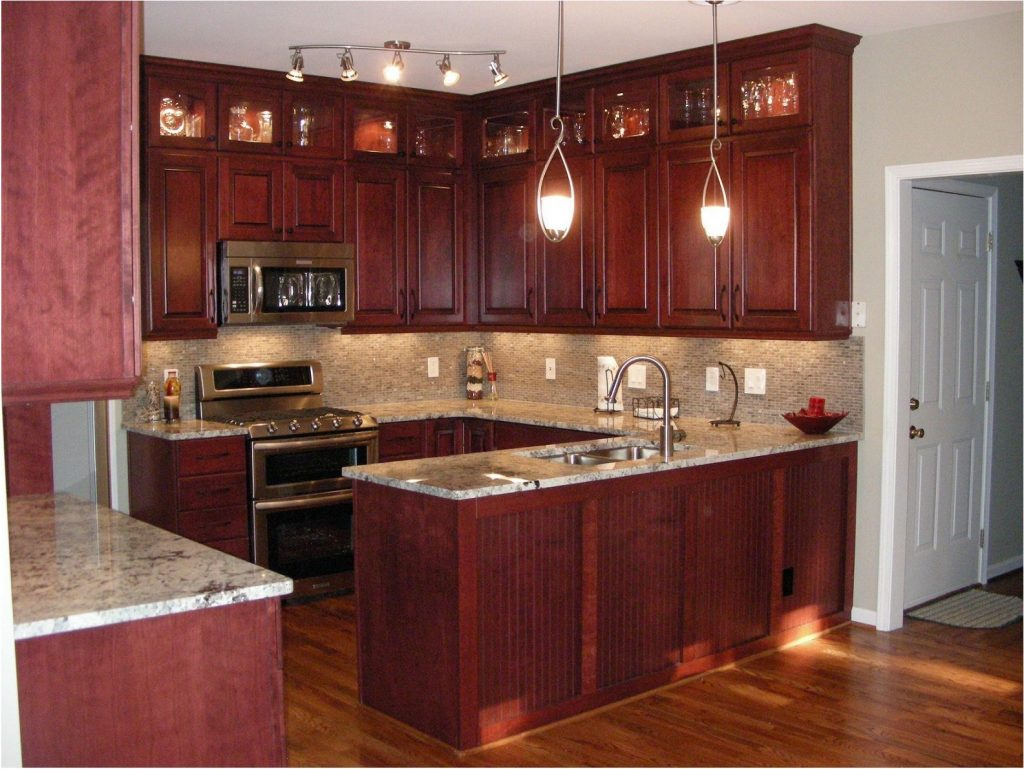 Cherry Kitchen Cabinets With Wood Floors Lovely Grand Cherry