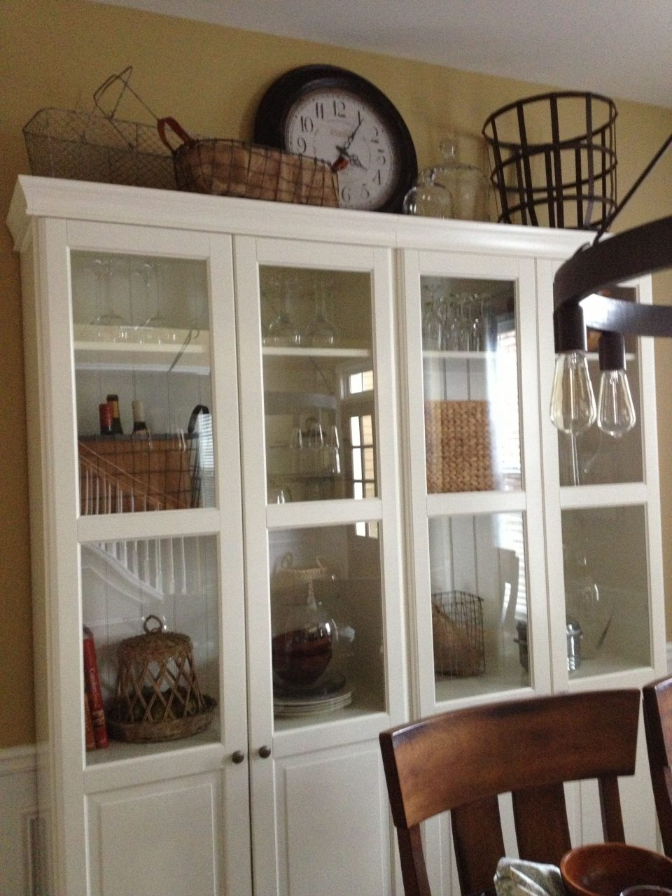 China Cabinet From Ikea Dining Room Dining Room Hutch Dining