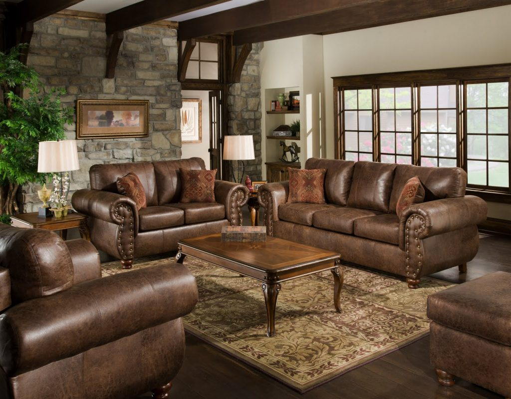 Classic Living Room Furniture Ideas Features Smooth Wooden Floor And