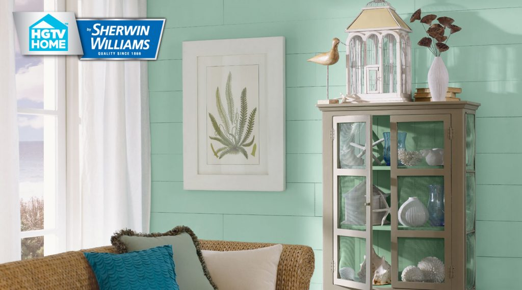 Coastal Cool Paint Color Collection Hgtv Home Sherwin Williams