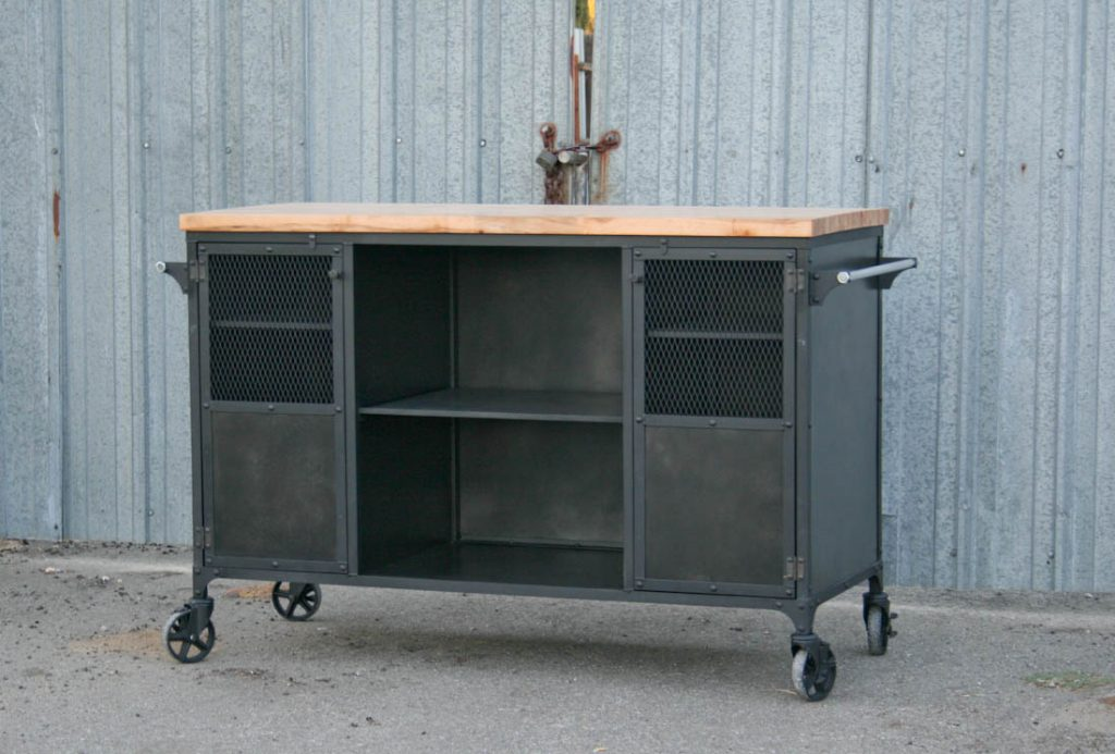 Combine 9 Industrial Furniture Industrial Kitchen Island Modern