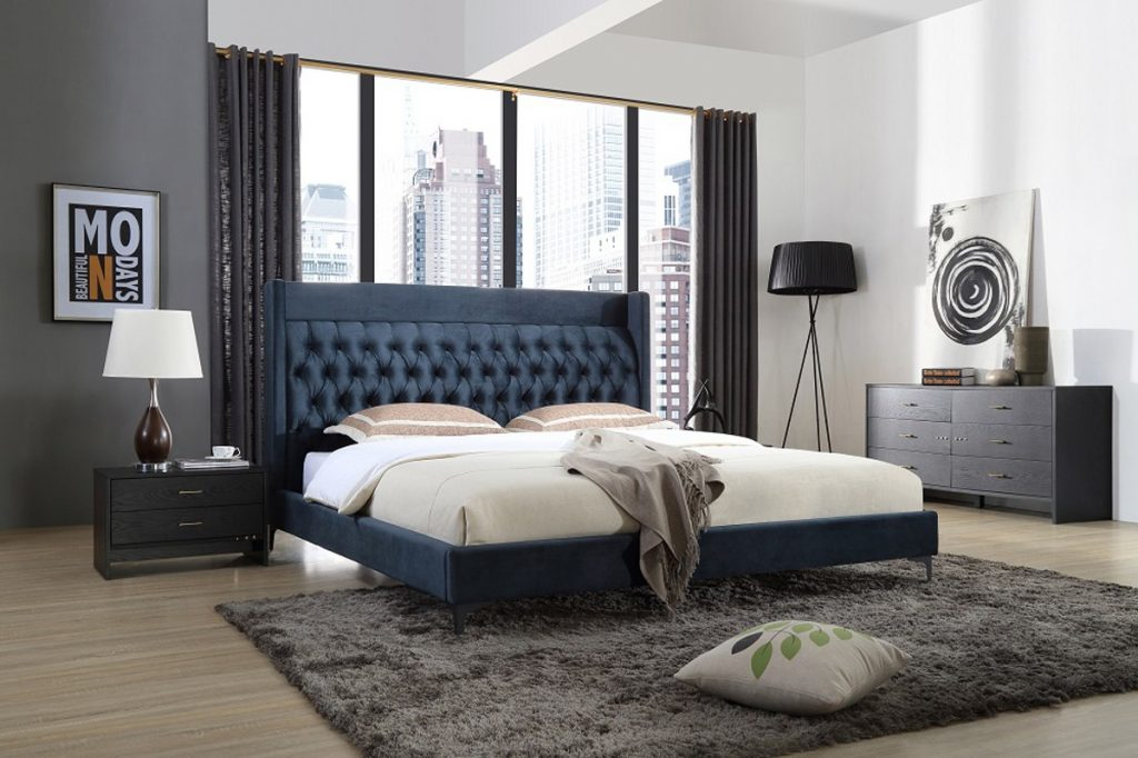Contemporary Bedroom Furniture Sets Blue Sasakiarchive