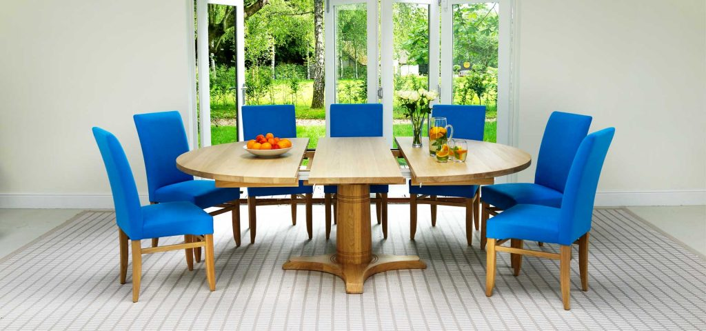 Contemporary Round Dining Table Round Extending Dining Tables
