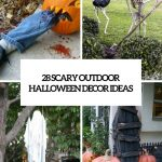 Cool Outdoor Halloween Decoration Ideas