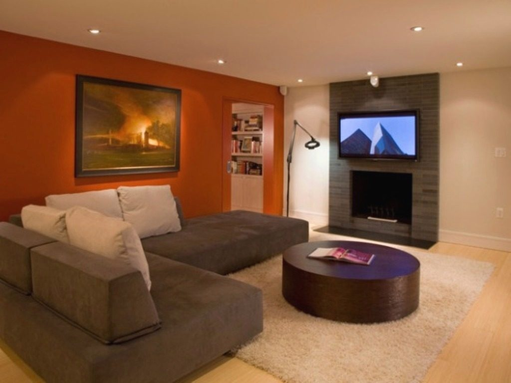 Coolest Living Room Color Schemes With Brown Leather Furniture