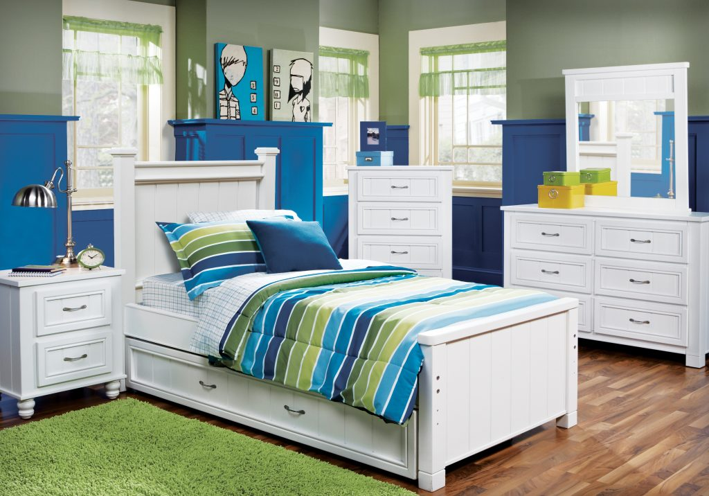 Cottage Colors White 5 Pc Full Panel Bedroom Teen Bedroom Sets White