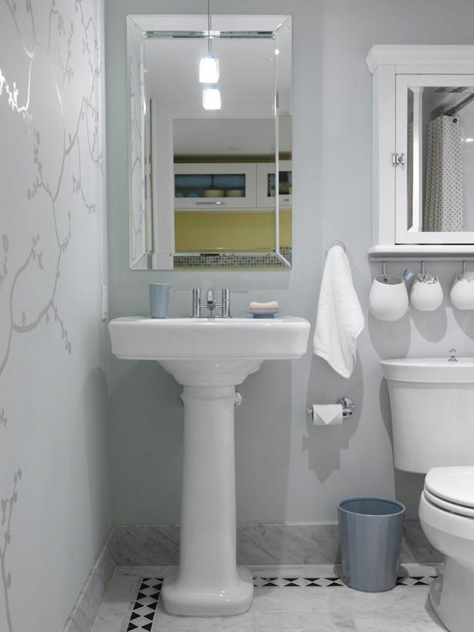Creative Of Maximizing Space In A Small Bathroom Related To Home