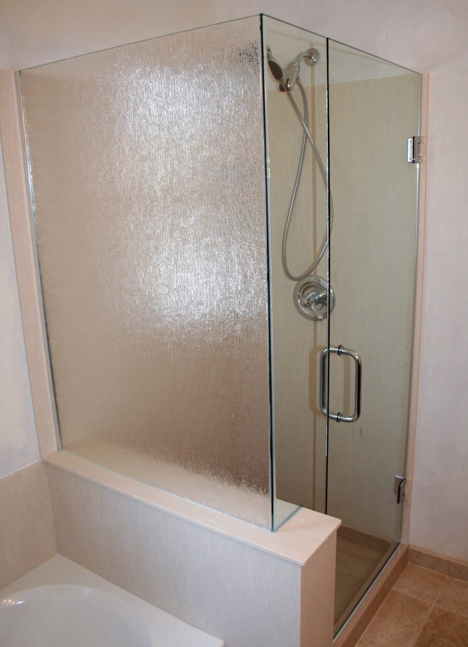 Custom Glass Shower Door Enclosurevirginia Maryland Dc Thermostatic