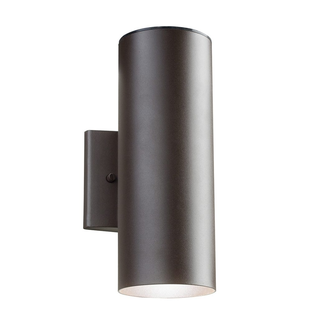 Cylinder Led Updownlight Wall Sconce Kichler 11251azt30