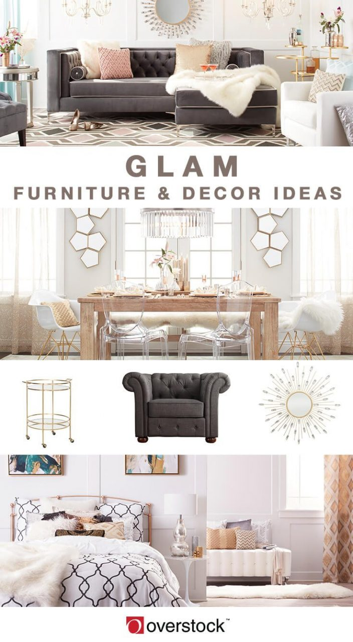 Dazzling Glam Decorating Ideas For Your Home Overstock