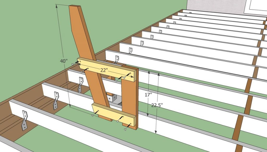 Deck Bench Plans Free Diy Deck Building Plans Deck Seating