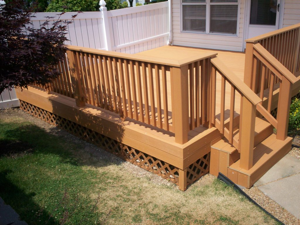 Deck Design Ideas Real Wood Vs Decks That Look Like Wood St