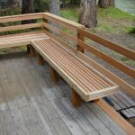 Deck Railing Bench Ideas