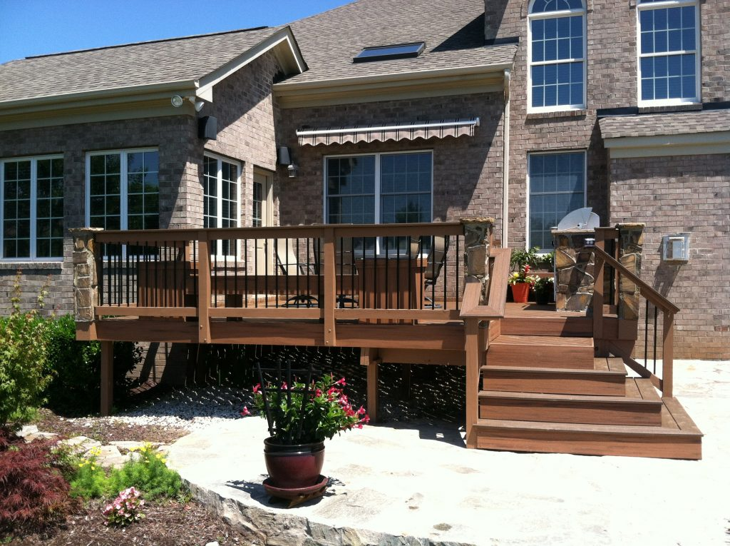 Decking Use Trex Deck Designs For Your Ideal Outdoor Space
