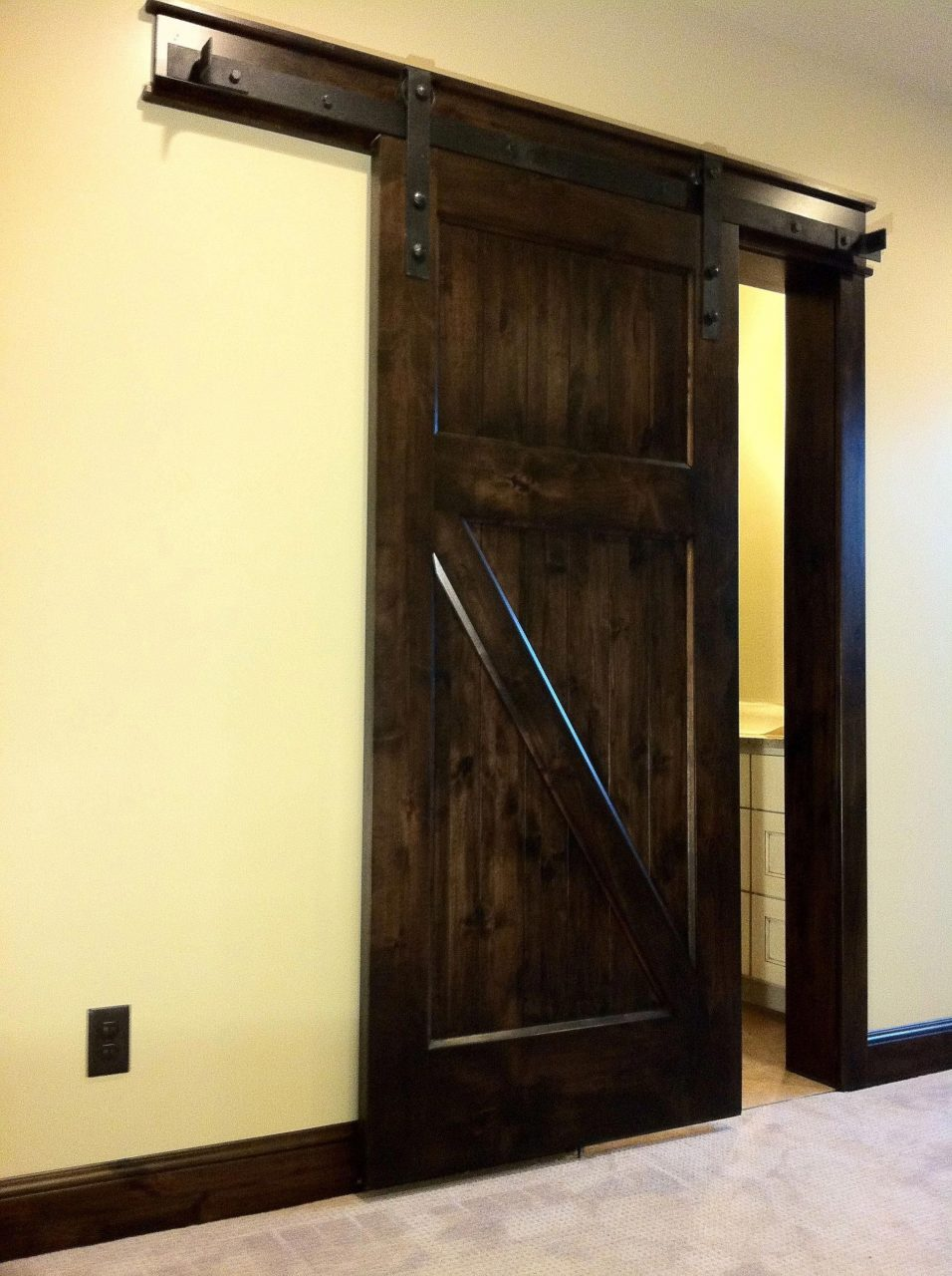 Decorative Barn Doors Interior Barn Door Installation Interior