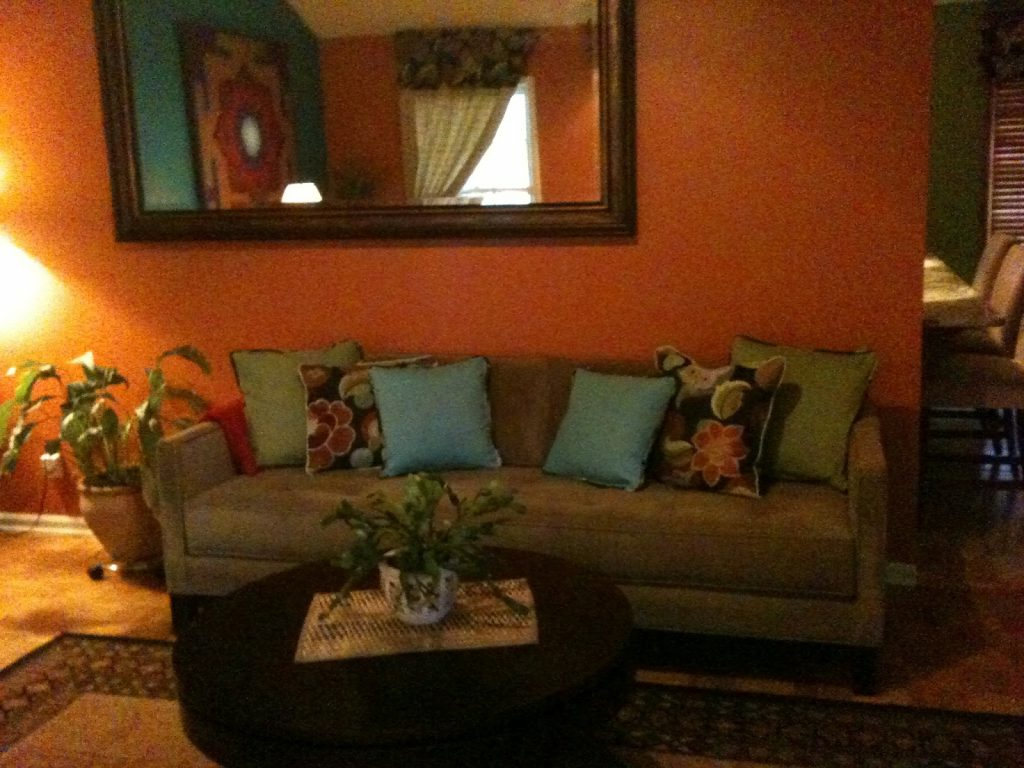 Design Of Brown Living Room Ideas Willie Homes Orange And Brown